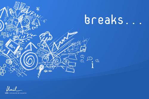 A break...