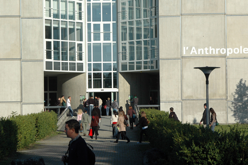 L'entrée de l'Anthropole