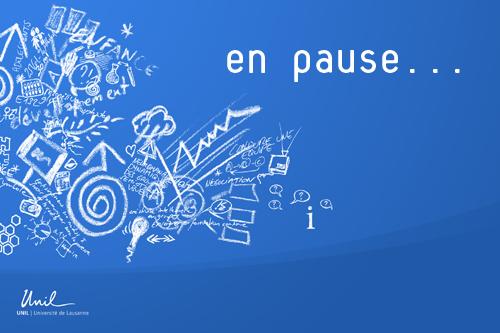 En pause...